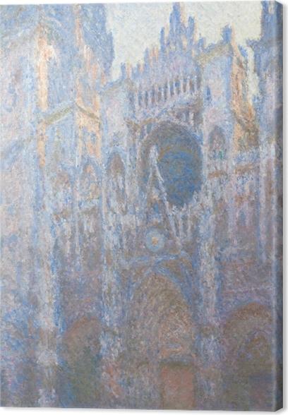 Tableau sur toile Claude Monet - La Cathédrale de Rouen - Reproductions