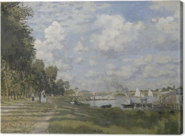 Tableau sur toile Claude Monet - Le Bassin Argenteuil - Reproductions