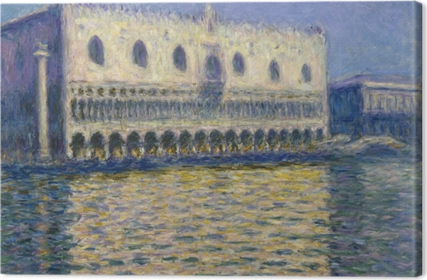 Tableau sur toile Claude Monet - Le Palais Ducal - Reproductions