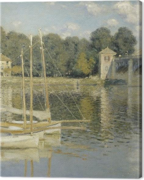 Tableau sur toile Claude Monet - Le Pont d'Argenteuil - Reproductions