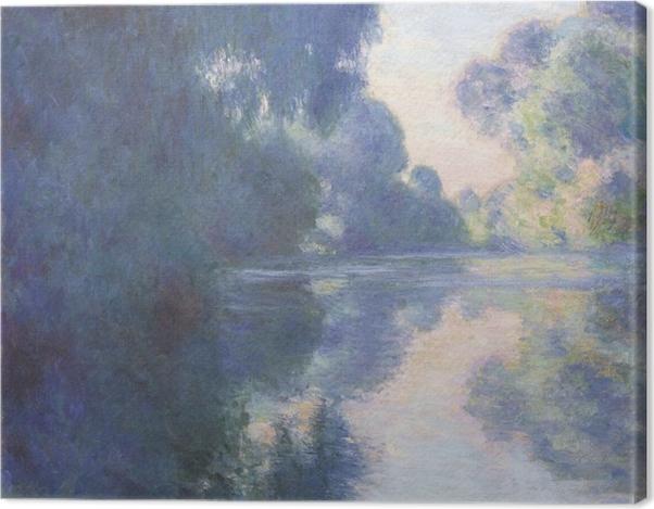 Tableau sur toile Claude Monet - Matin sur la Seine - Reproductions