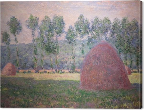 Tableau sur toile Claude Monet - Meule à Giverny - Reproductions