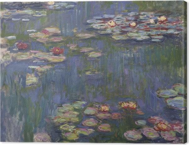 Tableau sur toile Claude Monet - Nénuphars - Reproductions