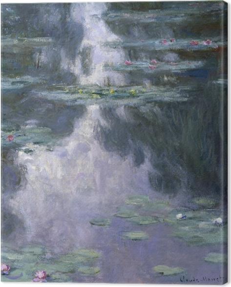Tableau sur toile Claude Monet - Nymphéas - Reproductions