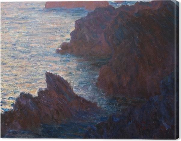 Tableau sur toile Claude Monet - Port-Domois à Belle-Ile - Reproductions