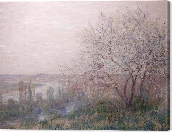Tableau sur toile Claude Monet - Printemps - Reproductions