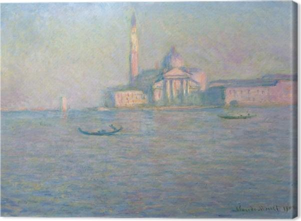 Tableau sur toile Claude Monet - Saint-Georges-Majeur au crépuscule - Reproductions