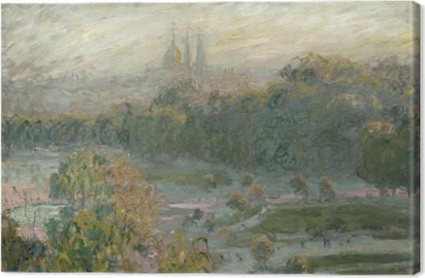 Tableau sur toile Claude Monet - Tuileries (étude) - Reproductions
