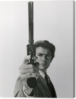 Tableau sur toile Clint Eastwood