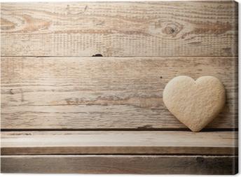 Tableau sur toile Coeur