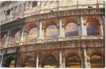 Tableau sur toile Colisée, Rome
