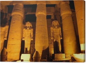 Tableau sur toile Colonnes géantes de l'ancienne ville égyptienne Luksor