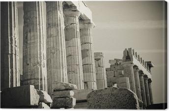Tableau sur toile Colonnes grec