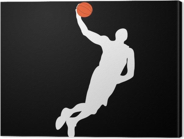 b4cae1326342b Tableau sur toile Compagnon de basket-ball • Pixers® - Nous vivons ...