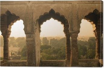 Tableau sur toile Construction ancienne, Inde