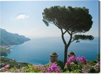 Tableau sur toile Côte d'Amalfi vue