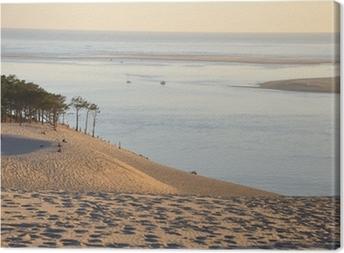 Tableau sur toile Coucher de soleil sur la dune du pyla 12