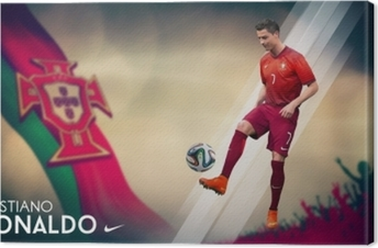 Tableau sur toile Cristiano Ronaldo