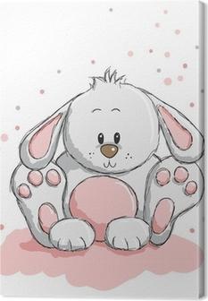 Tableau sur toile Cute rabbit