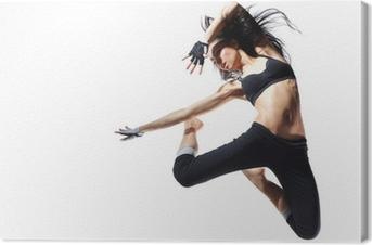 Tableau sur toile Danseuse de style moderne