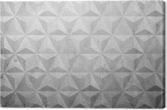 Tableau sur toile Des polygones