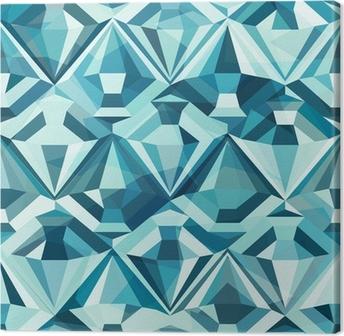 Papier Peint à Motifs Diamant de couleur froide, seamless • Pixers ...