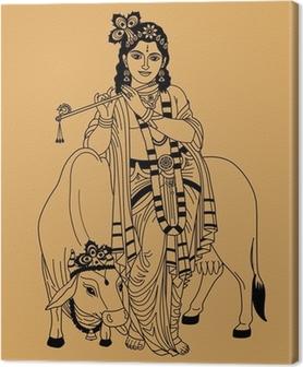 Tableau sur toile Dieu indien