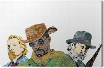 Tableau sur toile Django