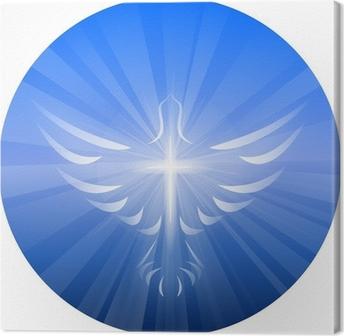 Tableau sur toile Dove Représenter l'Esprit de Dieu