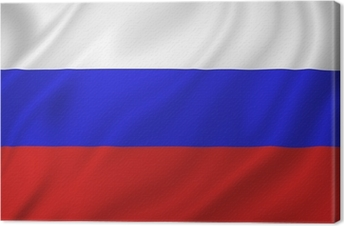 Tableau sur toile Drapeau de la Russie
