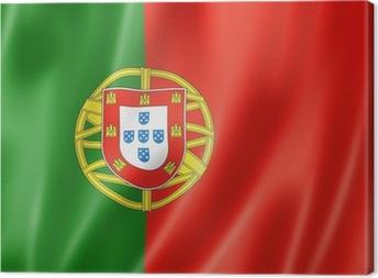 Tableau sur toile Drapeau portuguais