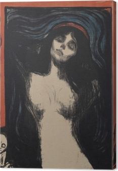 Tableau sur toile Edvard Munch - La Madone
