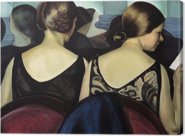 Tableau sur toile Efa Prudence Heward - Au théâtre - Reproductions