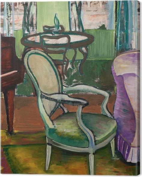 Tableau sur toile Efa Prudence Heward - Etude du salon de l'artiste - Reproductions