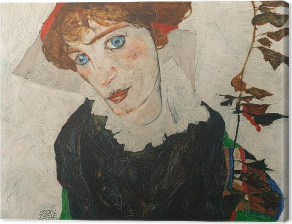 Tableau sur toile Egon Schiele - Portrait de Walburga Neuzil (Wally) - Reproductions