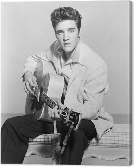 Tableau sur toile Elvis Presley - Elvis Presley