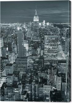 Tableau sur toile Empire State Building gros plan
