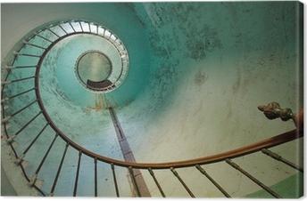 Tableau sur toile Escalier phare