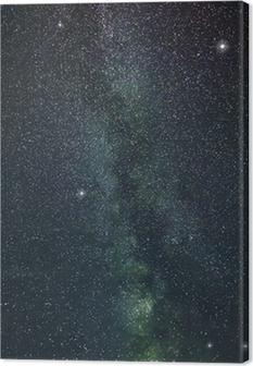 Tableau sur toile Étoiles Voie Lactée