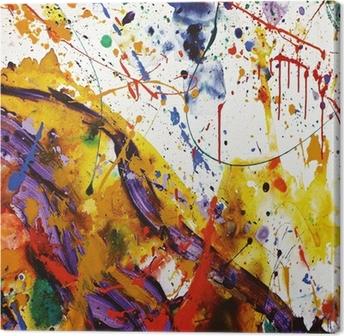 Tableau sur toile Faire de la peinture