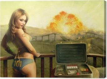 Tableau sur toile Fallout