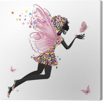 tableaux sur toile femme ange pixers nous vivons pour changer. Black Bedroom Furniture Sets. Home Design Ideas
