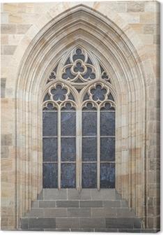 Tableau sur toile Fenêtre gothique