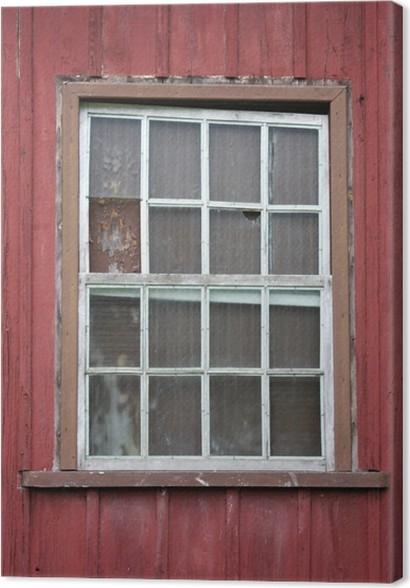 Fenetre Rustique tableau sur toile fenêtre rustique • pixers® - nous vivons pour changer