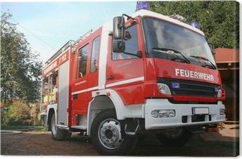 Tableau sur toile Feuerwehr
