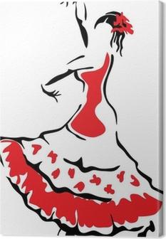 Tableaux Sur Toile Danseur Flamenco Pixers Nous Vivons Pour Changer