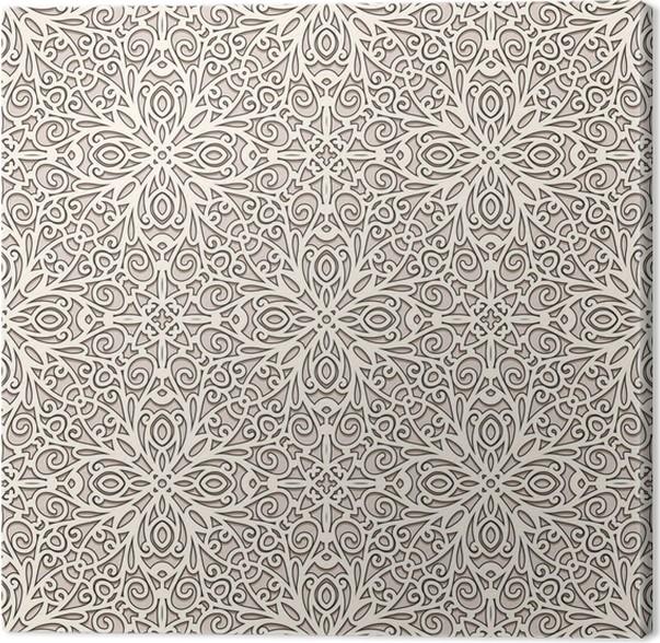 tableau sur toile fond de dentelle ornement motif sans couture pixers nous vivons pour changer. Black Bedroom Furniture Sets. Home Design Ideas