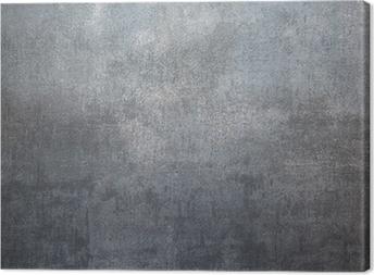 Tableau sur toile Fond en métal argenté