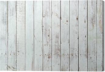 Tableau sur toile Fond noir et blanc de la planche en bois