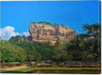 Tableau sur toile Forteresse de Sigiriya Rock